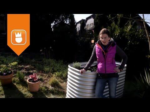 Hochbeet aus Zinkalume anlegen und richtig bepflanzen | OBI Gartenzeit
