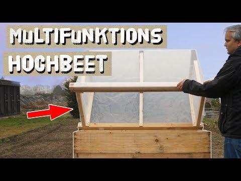 Multifunktions Hochbeet selber Bauen - 1. Hochbeet aus Holz bauen und befüllen